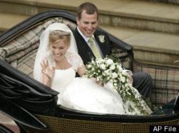 پخش مستقیم ازدواج نوه ملکه انگلیس در اینترنت رکورد زد