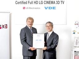 سینماسهبعدی الجی گواهینامه Full HD دریافت کرد