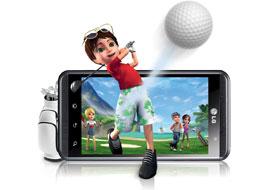 موتور مبدل بازی سه بعدی الجی بر روی گوشی Optimus ۳D