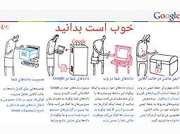گوگل یک سرویس دیگر خود را فارسی کرد