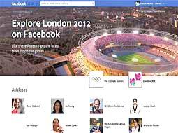 فیس بوک هم خود را به بازیهای المپیک رساند