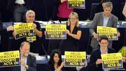 """رد """"اکتا"""" در پارلمان اروپا، پیروزی بزرگ فعالان آزادی اینترنت"""