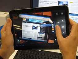 سامسونگ در حال ساخت رایانههای لوحی تحت ویندوز آر تی است