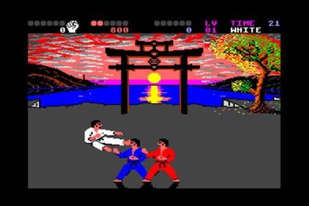 بازی کاراته بینالمللی یکی از مشهورترین بازیهای Commodore بود که در سال 1986 معرفی شد.