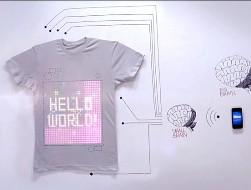 tshirtOS، یک لباس اینترنتی!