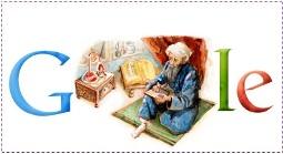لوگوی جدید گوگل در سالروز تولد رازی
