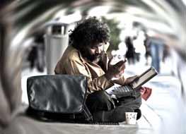 هفتاد و پنج درصد از بیخانمانها در آمریکا از شبکههای اجتماعی استفاده میکنند