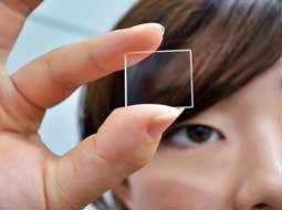 ذخیره اطلاعات روی شیشه