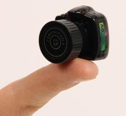 کوچکترین دوربین دیجیتال دنیا + تصاویر