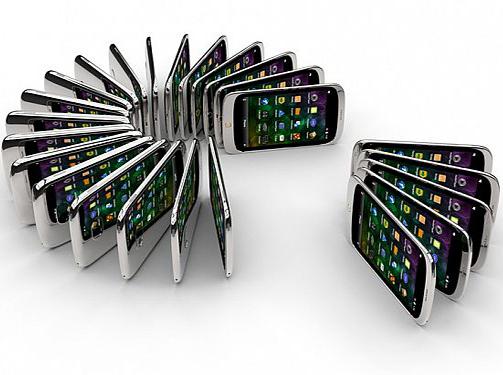 دوپنجم تلفنهای همراه خاورمیانه گوشی هوشمند هستند