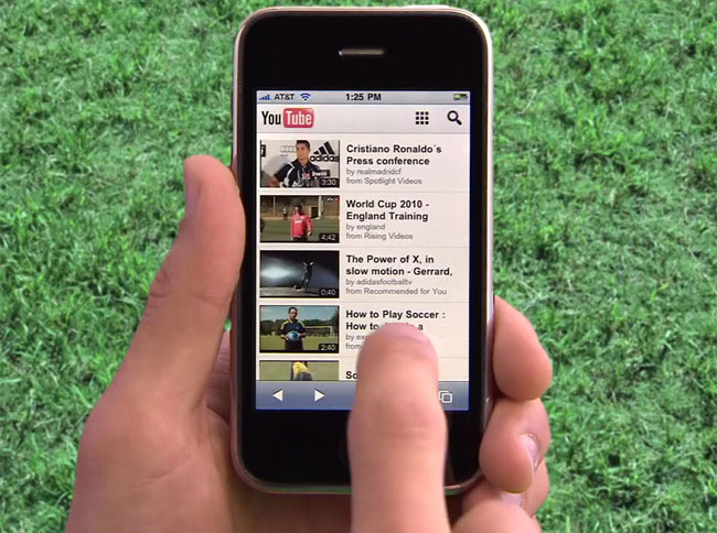 40 درصد ترافیک YouTube مربوط به مشترکان موبایلی میشود