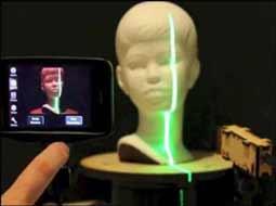 تلفنهای هوشمند به زودی به اسکنر سه بعدی تبدیل میشوند