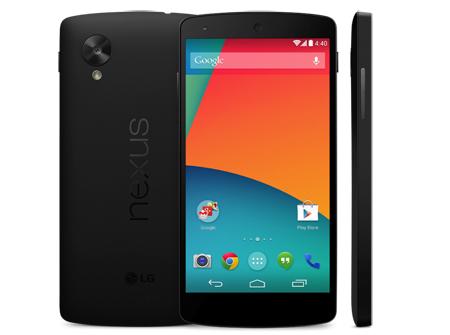 2- گوشی هوشمند Nexus 5 گوگل که توسط این شرکت اینترنتی ساخته شده است و همه قابلیتهای اینترنتی مورد نیاز را شامل میشود