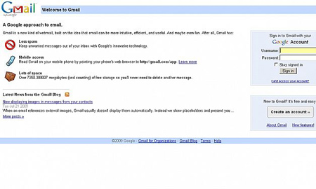 10- Gmail: کاهش سرعت بارگذاری با دو اختلال شبکهای 99 درصد مشترکان این سرویس را دچار مشکل کرد
