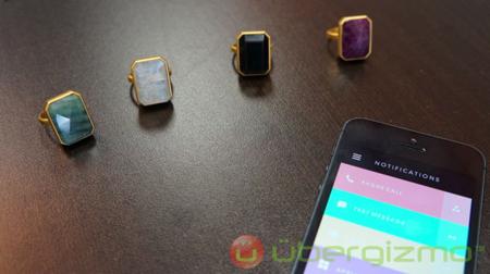 حلقههای طلای هوشمند با قابلیت اتصال به موبایل