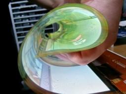 نمایشگر هایی که لوله می شوند -اولین در دنیا