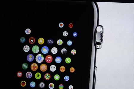 هنگامیکه آیکونهای ریز مانند این تصویر را داشته باشید، باید از پین دایرهای کنار دستگاه استفاده کنید.