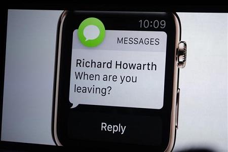 ارسال پیام متنی با این ساعت هوشمند بسیار ساده خواهد بود