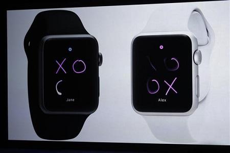 همچنین میتوان بر روی نمایشگر این ساعت از رسم اشکال بهجای استفاده از صفحهکلید مجازی استفاده نمود