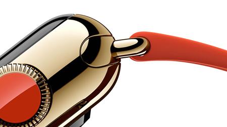 اپل یک مدل از این ساعت مچی را از جنس طلای 18 عیار تولید کرده است و مابقی از جنس فولاد و آلومینیوم ساخته شدهاند