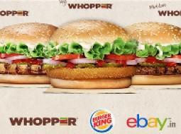 فروش همبرگر در ebay