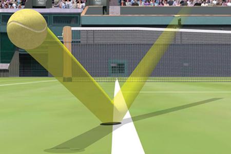 این فناوری حرکت توپ را به طور دایم زیر نظر میگیرد و نتایج حاصل را لحظه بهلحظه روی مانیتور مشخص میکند