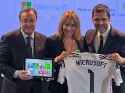"""مایکروسافت با باشگاه """"رئال مادرید"""" قرارداد ۴ ساله بست"""