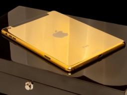 iPad Air 2 با طلای ۲۴ عیار ساخته شد
