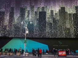 گوگل بزرگترین نمایشگر دنیا را برای تبلیغات خود نصب کرد