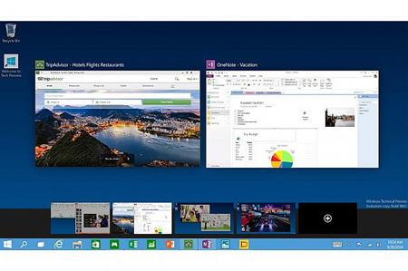 MULTIPLE DESKTOPS: کاربران میتوانند به صورت همزمان از ویندوز 10 در چند رایانه شخصی یا سیستم مجازی استفاده کنند