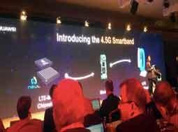 رونمایی هواوی از اولین دستبند هوشمند LTE با پشتیبانی از شبکه ۴.۵G این شرکت