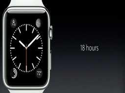 اپل واچ 18 ساعت عمر شارژ باتری خواهد داشت