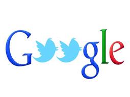 همکاری گوگل و توئیتر برای گسترش دامنه خدمات جستجو