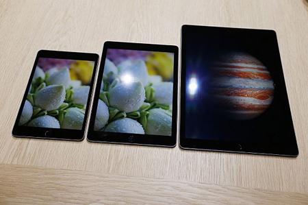 بزرگترین تبلت اپل موسوم به iPad Pro / گزارش تصویری