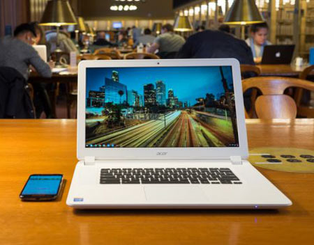 2- Acer Chromebook 15؛ کرومبوک 15 از شما میپرسد به یک ماشین کارآمد نیاز دارید؟ شما بگویید بله! و Acer Chromebook 15 را اجرا کنید!