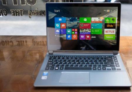 7- Acer Aspire V7؛ کارایی فوقالعاده! ایدهآل برای دانشجویان!