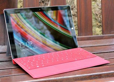 8- Microsoft Surface 3؛ باریکتر، سبکتر، بیسروصداتر و ارزانتر!