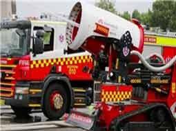 استفاده از ربات آتش نشان در استرالیا n00039785 b