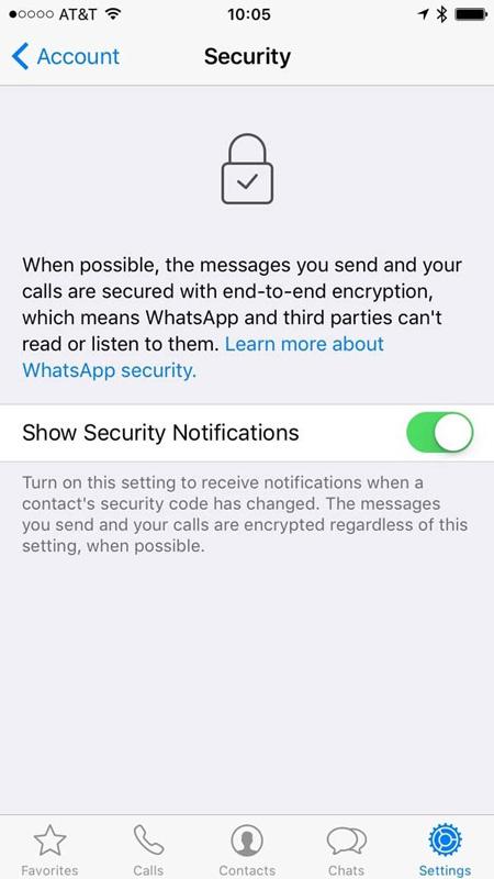 شکاف امنیتی در واتساَپ و چگونگی برطرف کردن آن