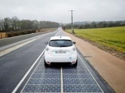 استفاده از اولین فناوری جاده خورشیدی در فرانسه