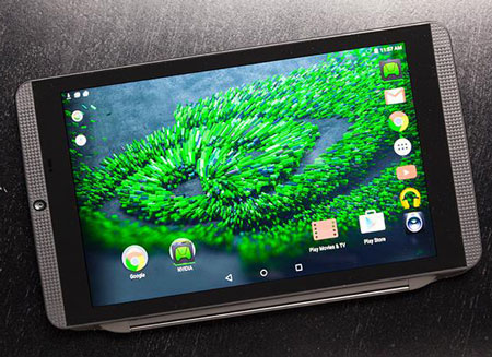 5- Nvidia Shield Tablet K1