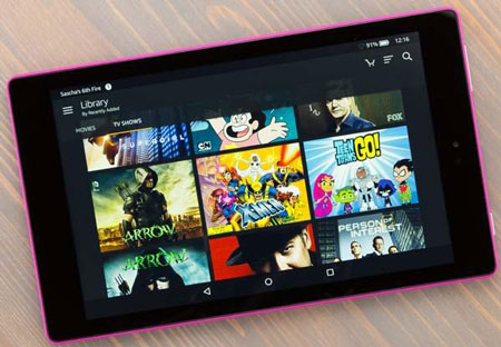 10- Amazon Fire HD 8