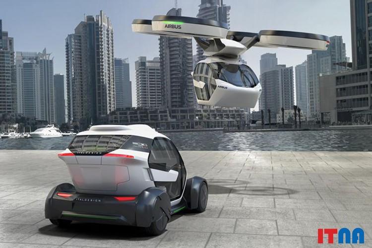 Airbus خودرو هوشمند پرنده عرضه کرد + عکس