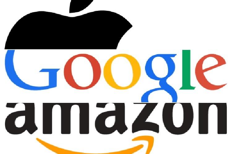 همکاری بیسابقه گوگل ، آمازون و اپل