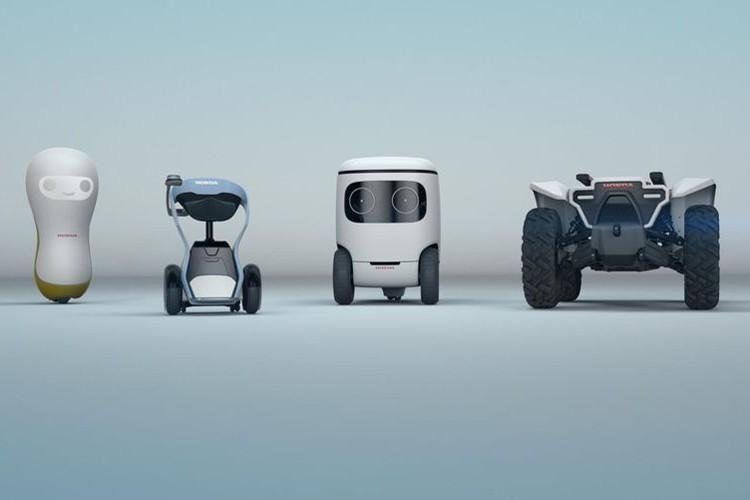 خانواده اتومبیلهای روباتیک هوندا در انتظار نمایشگاه CES