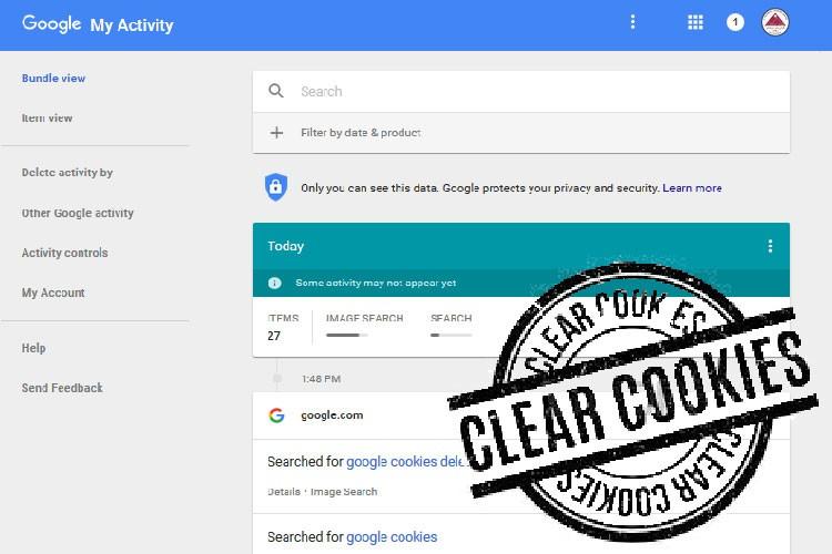 آموزش پاک کردن ردپایتان در گوگل