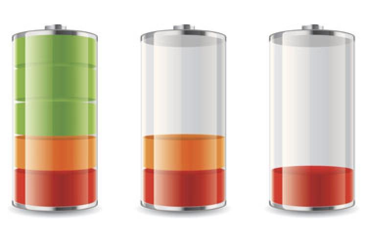 شارژ شدن باتری با بزاق دهان!