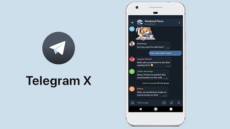 تلگرام ایکس و ویژگی های منصر به فرد آن