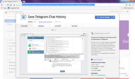 چگونه چت های تلگرام را ذخیره کنیم