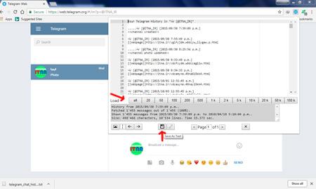 روش ذخیره مطالب تلگرام